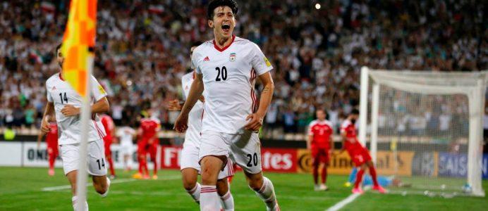 d94671816 World Cup One To Watch  Iran s 23-year-old forward Sardar Azmoun
